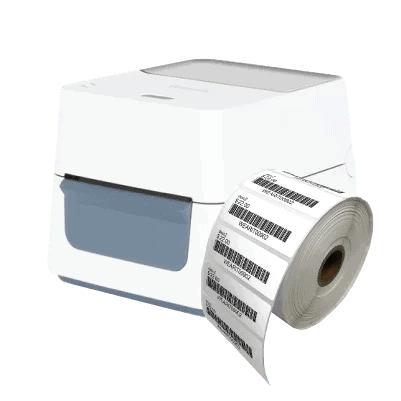 desktop thermal barcode label printer