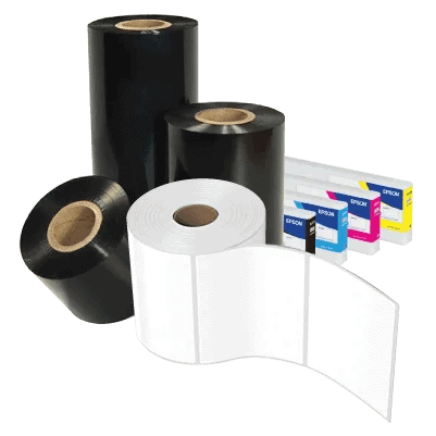 thermal ribbons blank labels and inks