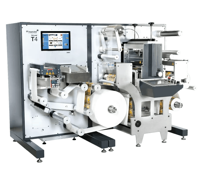 T4 digital production label press