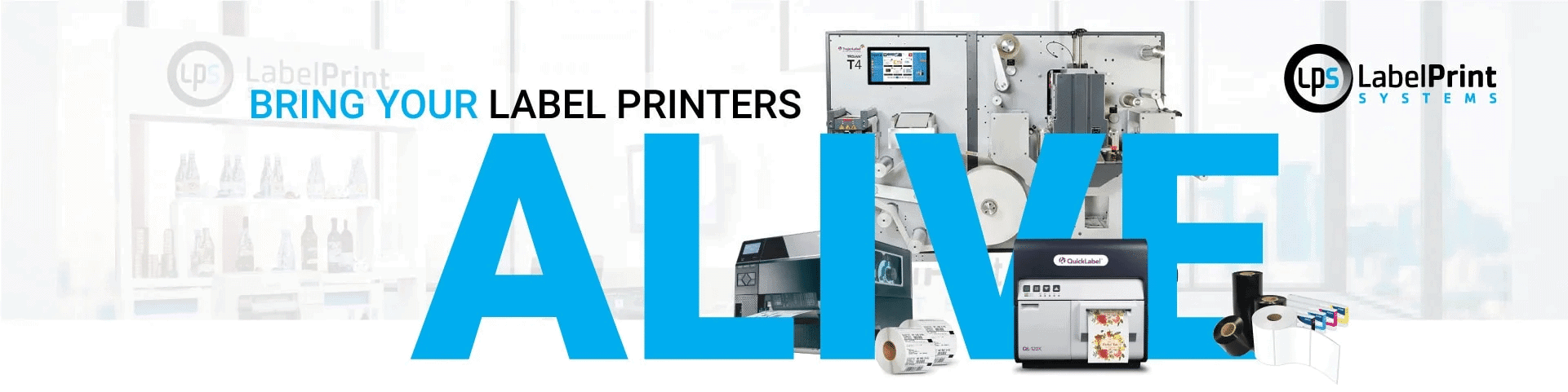 About Us LPS Printers ALIVE